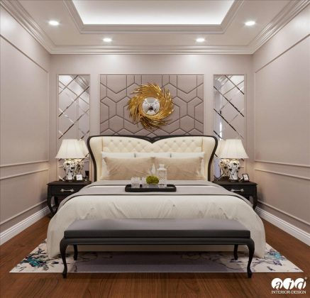 Căn hộ chung cư phong cách Tân cổ điển tại HC Golden, Long Biên - Mrs. Hằng