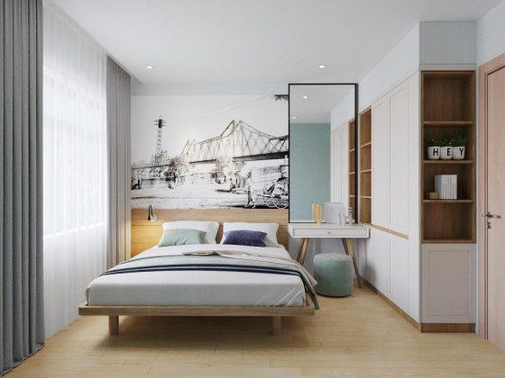 Căn hộ 1 phòng ngủ Vinhomes Ocean Park, thanh thoát, nhẹ nhàng và bình yên - Mrs. Tiêu