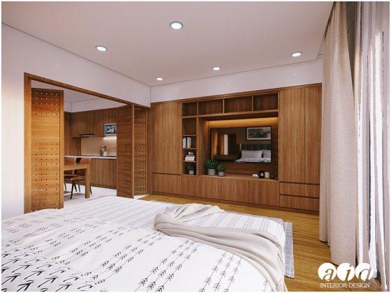 Căn hộ 1 phòng ngủ 45m2 Sunshine City - Mr. Vinh